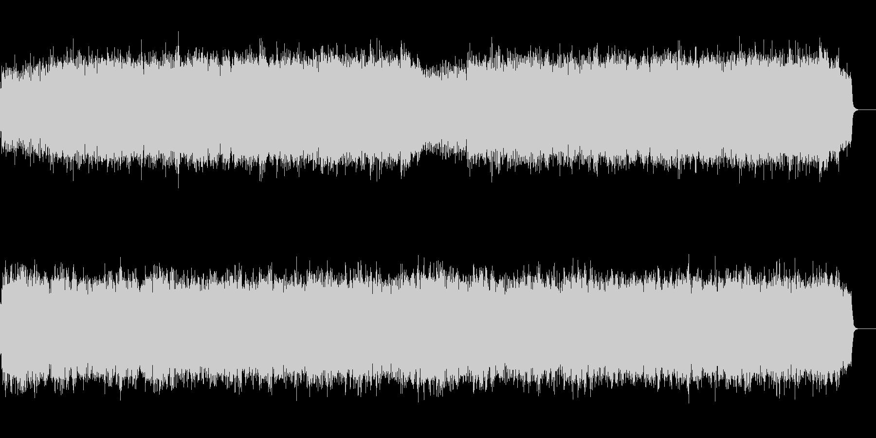 和風オーケストラのバトル/戦闘BGMの未再生の波形