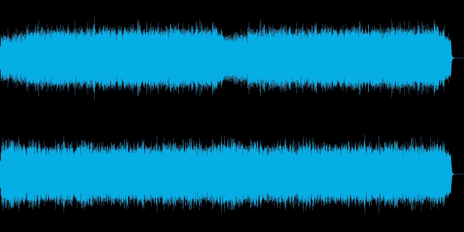 和風オーケストラのバトル/戦闘BGMの再生済みの波形
