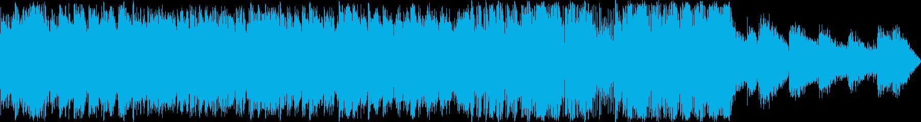 ソウルフルなクラリネットとアルトサ...の再生済みの波形