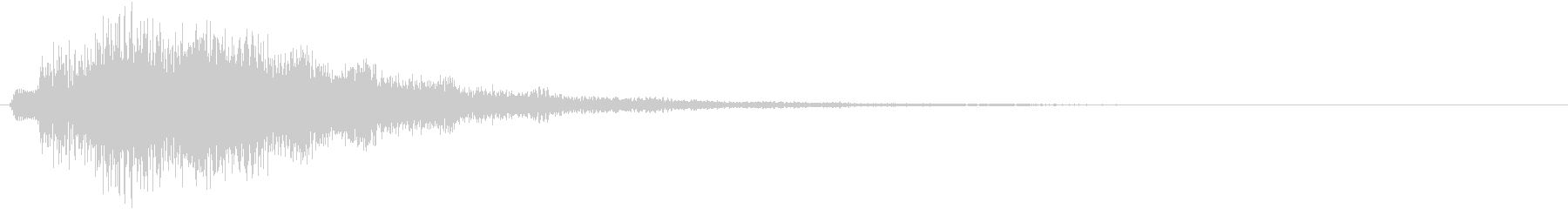 クォーン(サウンドロゴ、決定、ゲーム)の未再生の波形