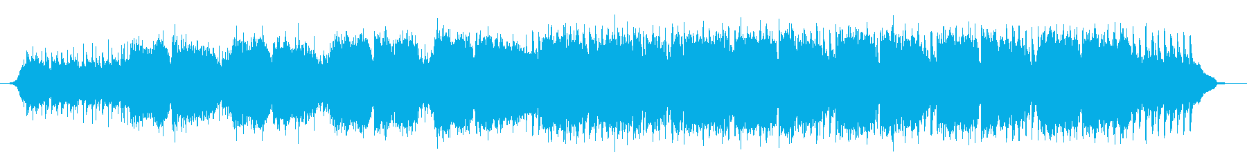 Bright and colorful BGM of violin and acoustic guitar's reproduced waveform