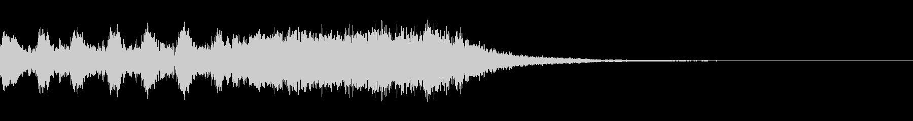 ポップ/ファンタジー風のアイキャッチの未再生の波形