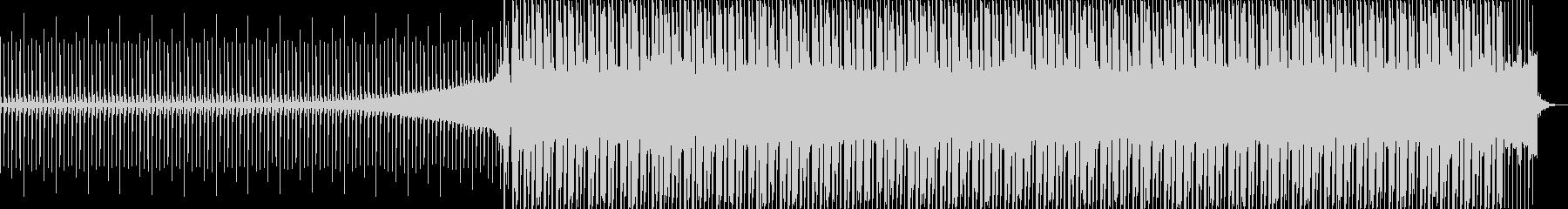 やんわりとした音のシンセサウンドの未再生の波形