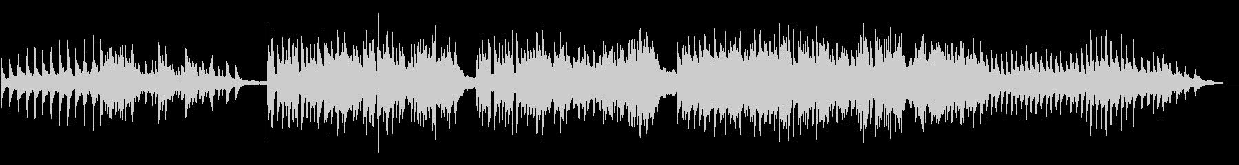 情熱的な大人の恋愛風クリスマスピアノソロの未再生の波形