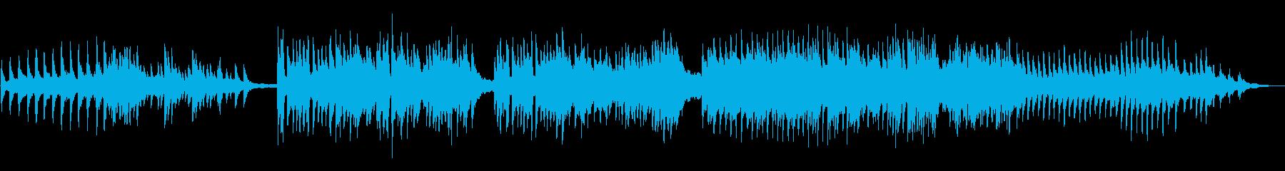 情熱的な大人の恋愛風クリスマスピアノソロの再生済みの波形