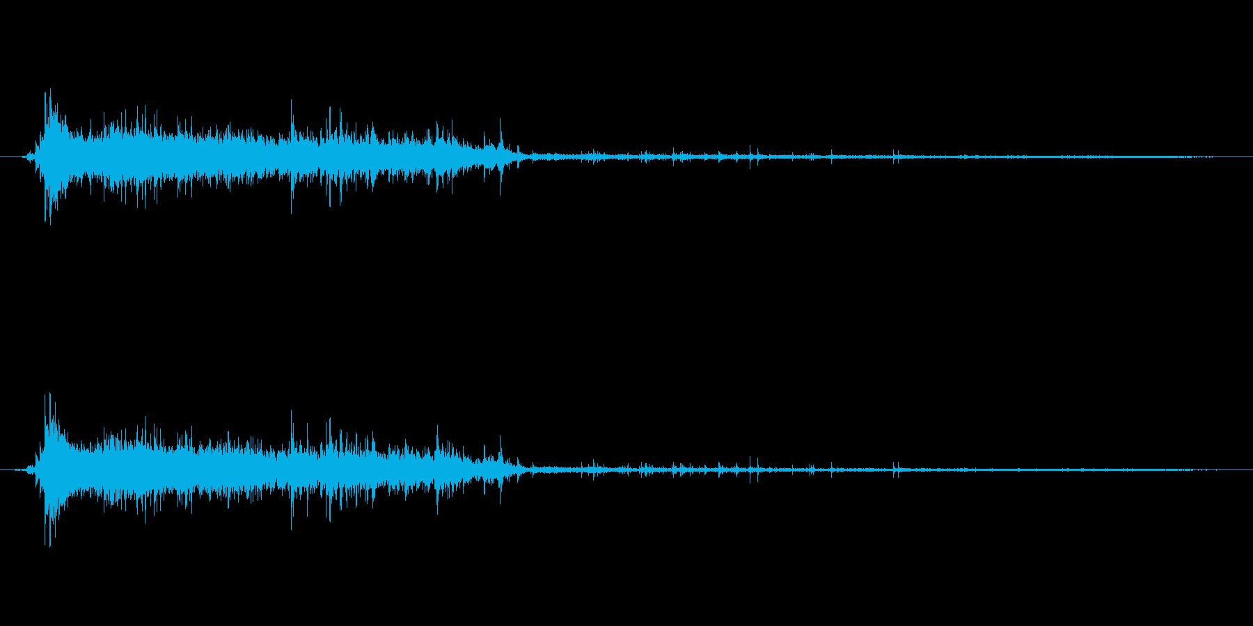 水 トイレフラッシュロング01の再生済みの波形