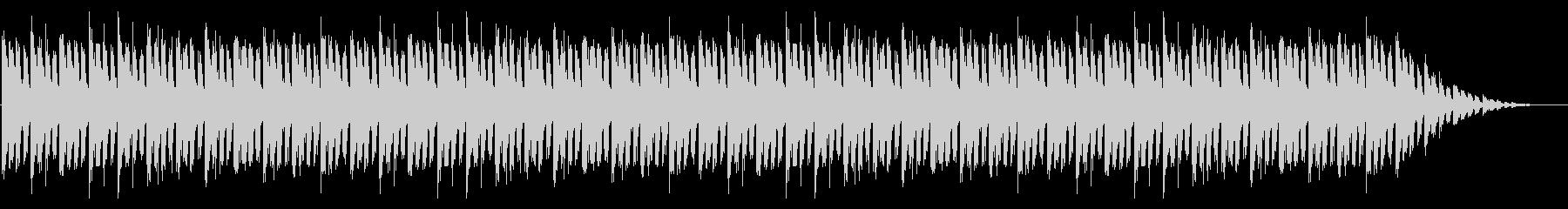 GB風シューティングのタイトル曲の未再生の波形
