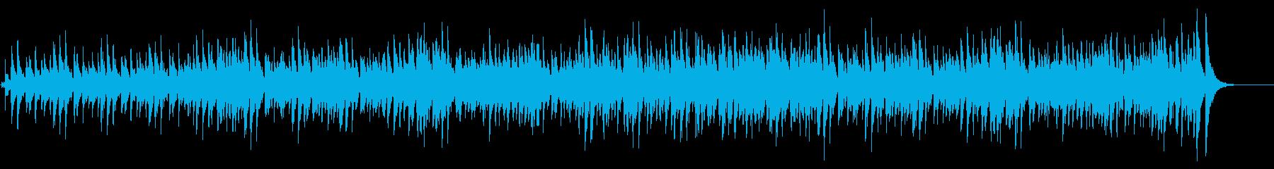 スチールドラムによるカリビアンなポップ曲の再生済みの波形
