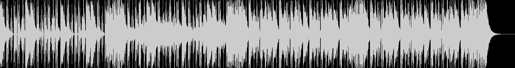 ダークなブラスとスクラッチヒップホップcの未再生の波形