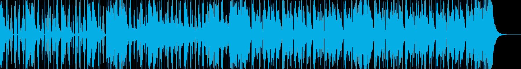 ダークなブラスとスクラッチヒップホップcの再生済みの波形