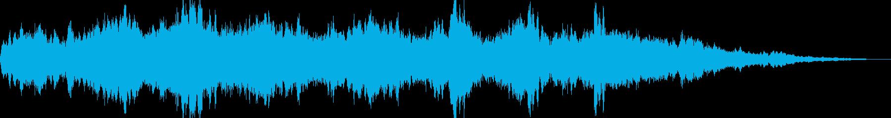 夢の中にいる様なファンタジー空間サウンドの再生済みの波形