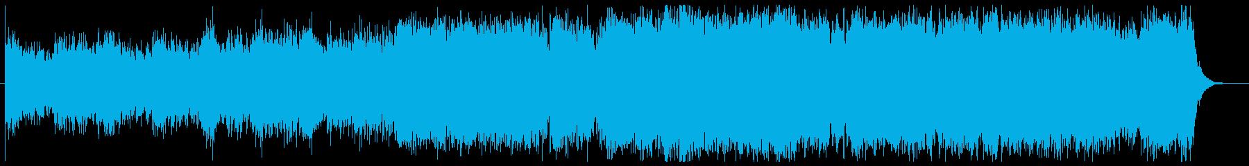 気がかり、不安を表現した1曲の再生済みの波形