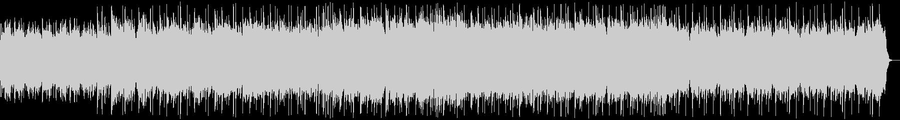 幻想的 神秘的な流れるピアノヒーリングbの未再生の波形