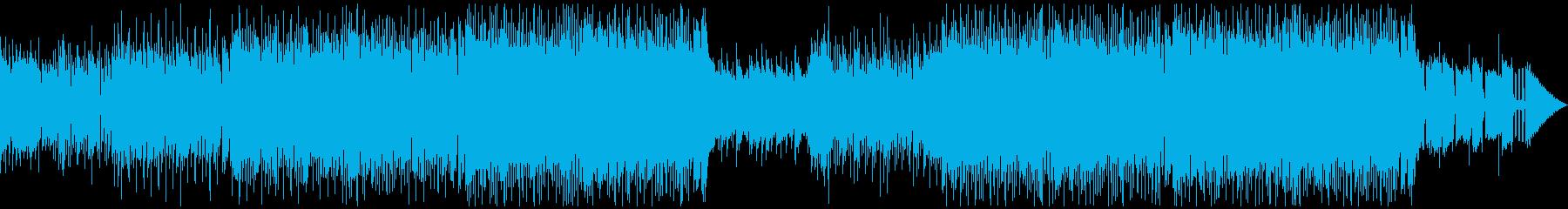 ファッショナブルなハウスポップダンス!の再生済みの波形