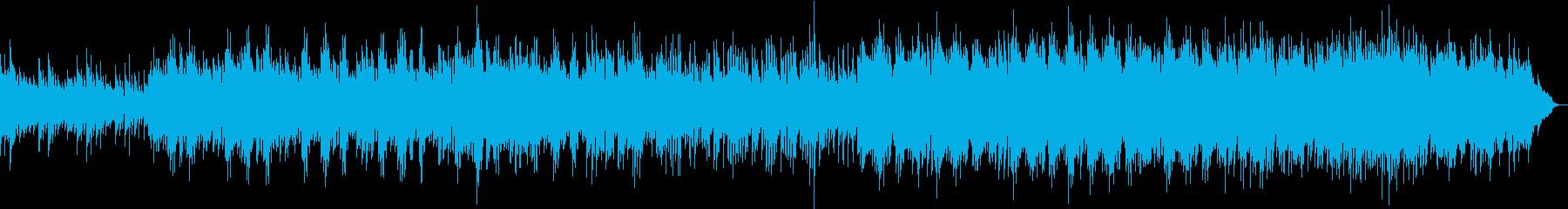 企業VPや映像に感動ストリングス・ピアノの再生済みの波形