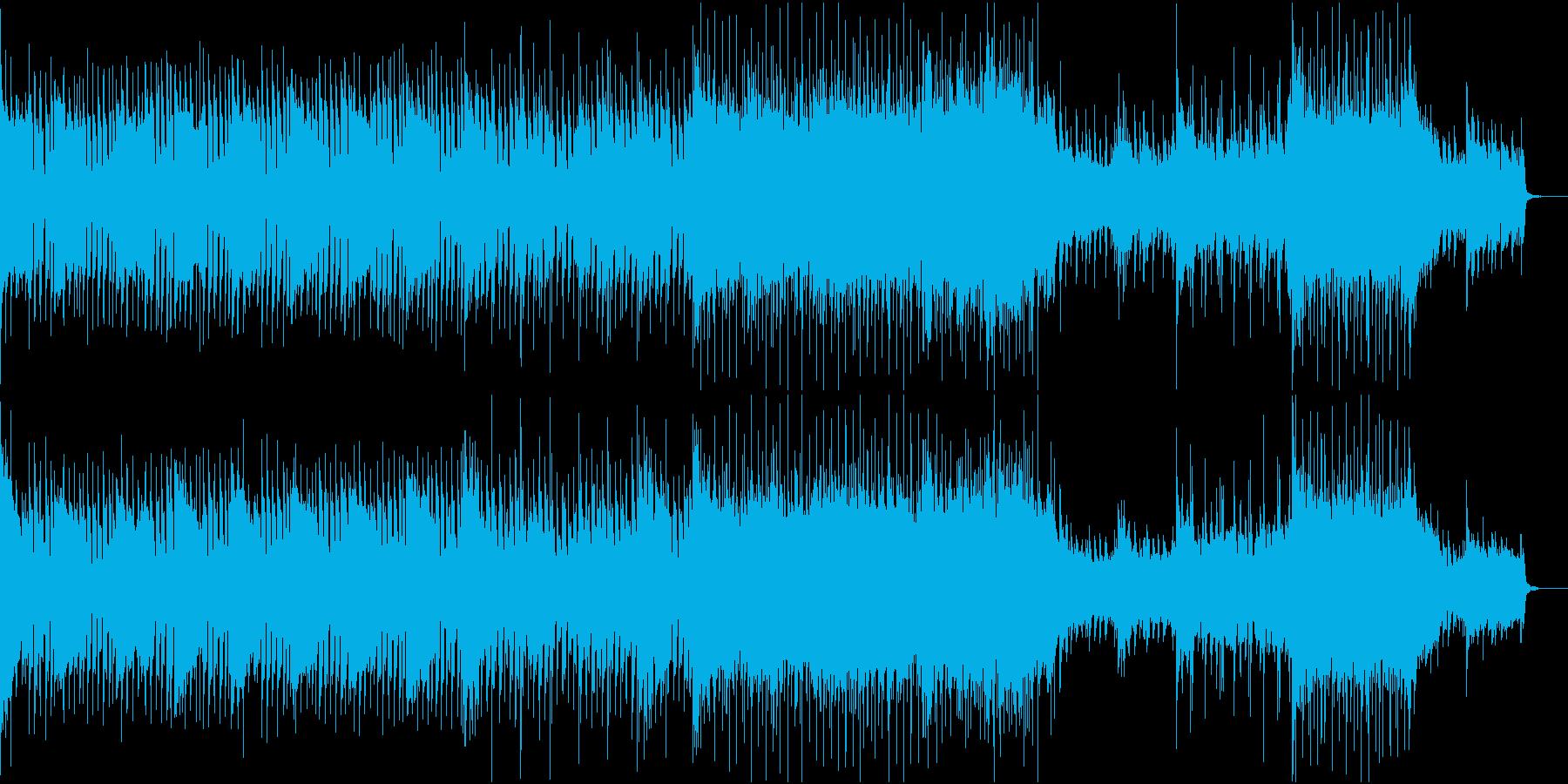 ★切迫した壮大なロックドラムオーケストラの再生済みの波形