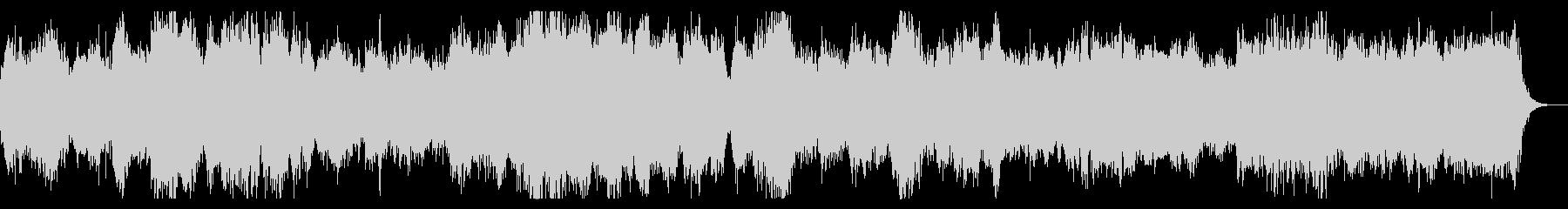 ダークファンタジー系 合唱とオーケストラの未再生の波形