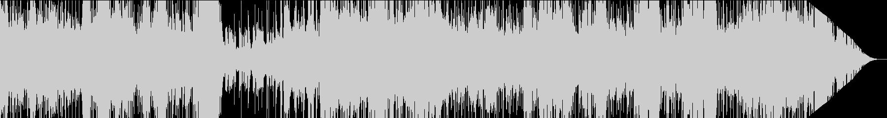 二胡が奏でる神秘的な中華風EDMの未再生の波形