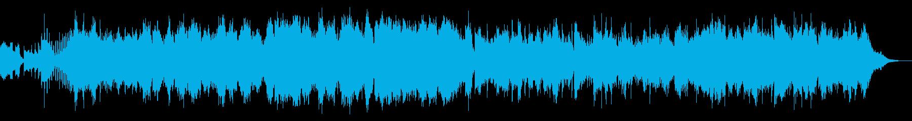 中国的名オーケストラ曲の再生済みの波形