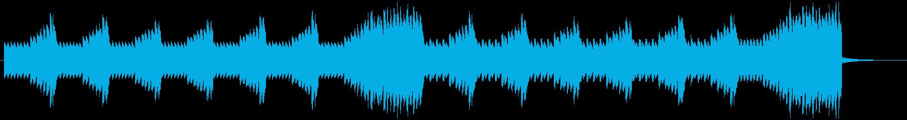 8bitのSTG風なSE・ジングルの再生済みの波形