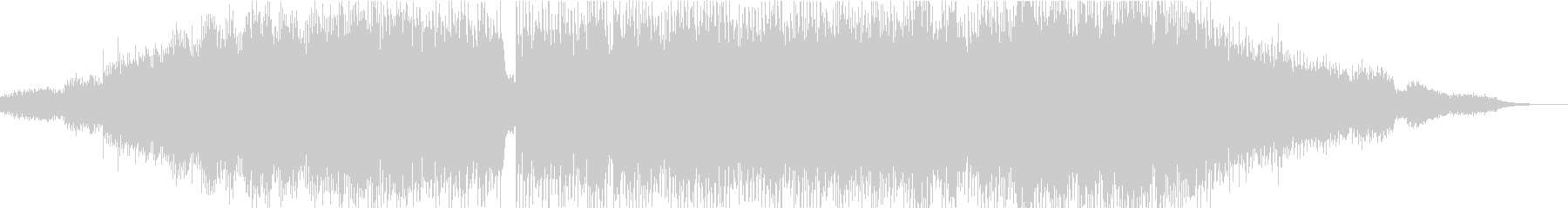 解放感のあるチルアウト音楽の未再生の波形