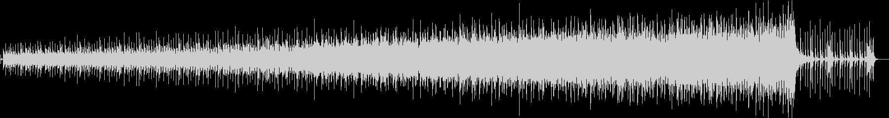 シンセベースの連打が印象的な16ビートの未再生の波形