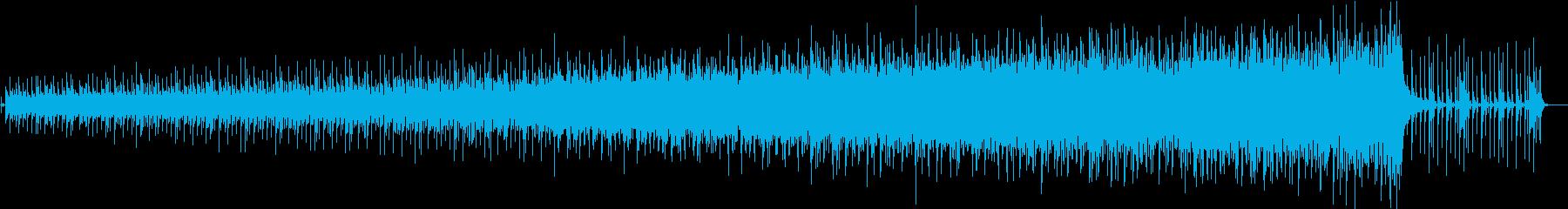 シンセベースの連打が印象的な16ビートの再生済みの波形