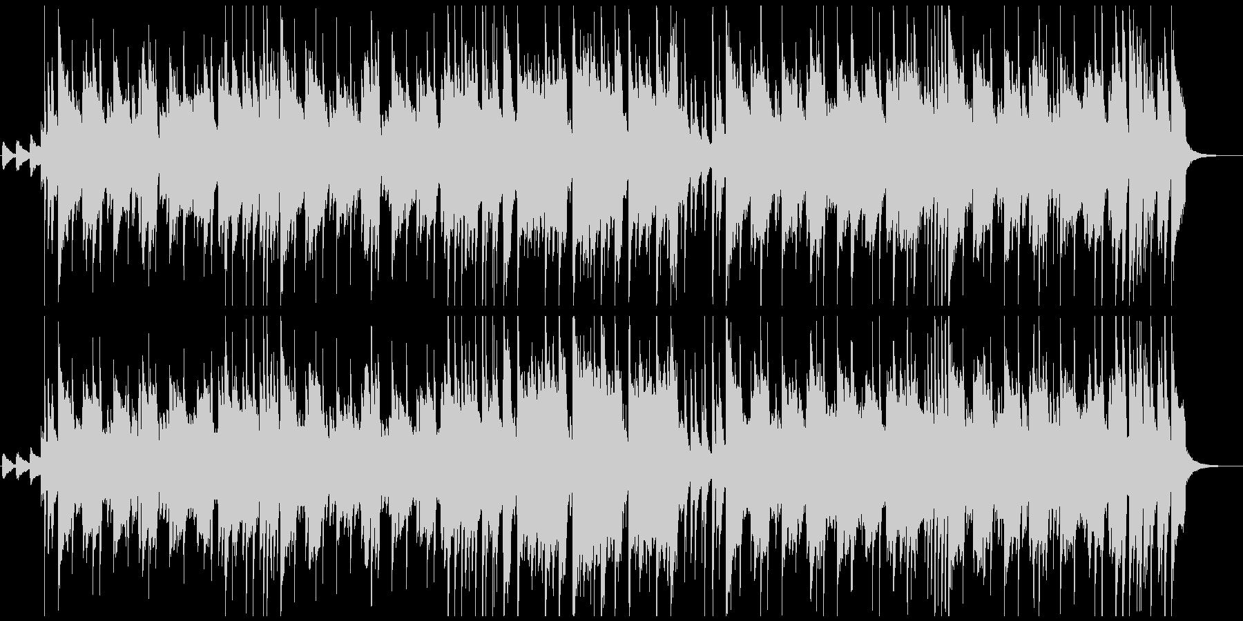 アコギのメロディ 爽やかなポップスの未再生の波形