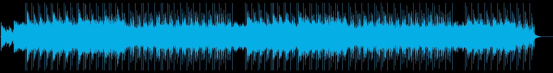 森の中にいるような不思議なBGMの再生済みの波形