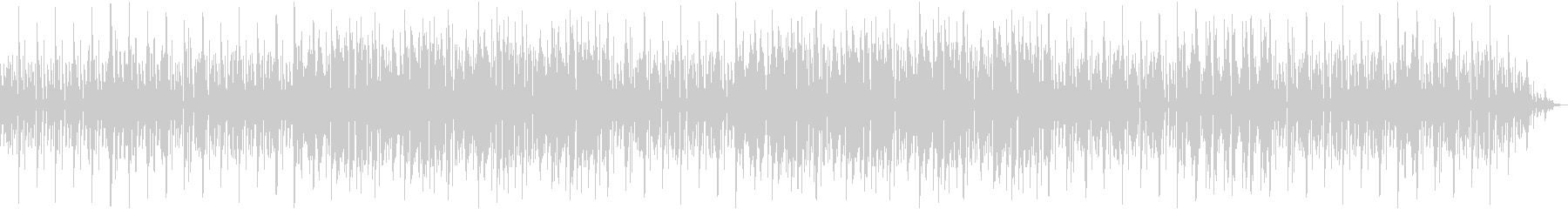 響きにインパクトある独特なメロディーの未再生の波形