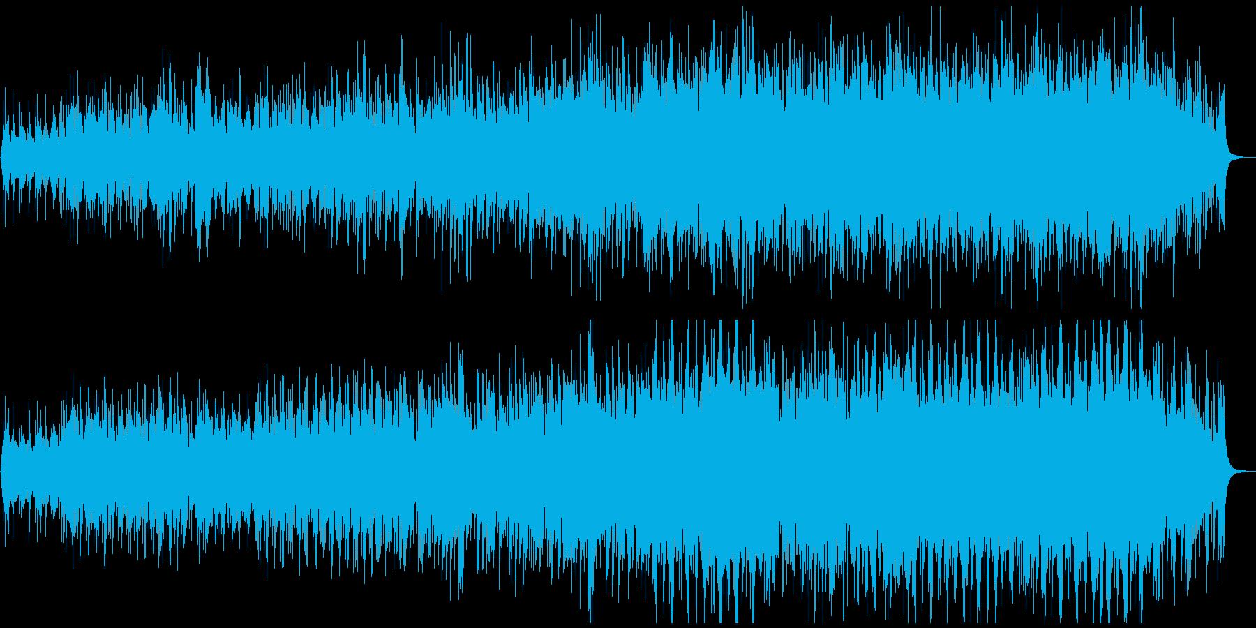 初夏~夏をイメージしたノスタルジックな曲の再生済みの波形