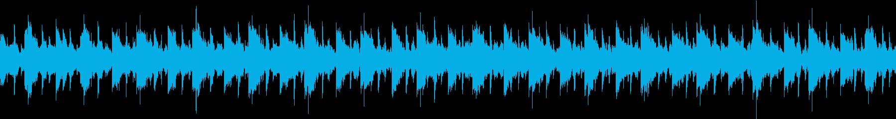何か不自然な雰囲気のループの再生済みの波形