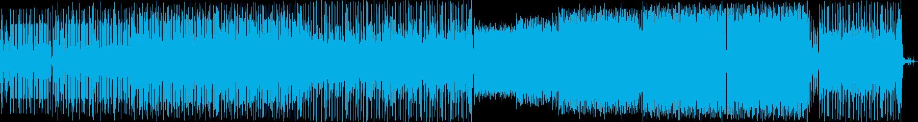 ジャジーなピアノが印象的な曲の再生済みの波形