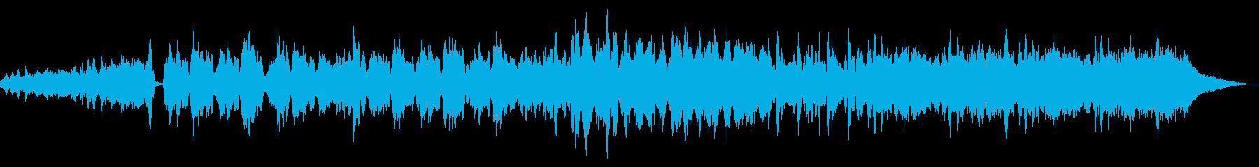 素敵に切ない静かなストリングスの再生済みの波形