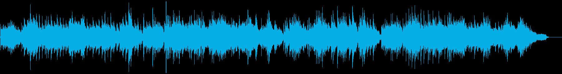 フルートとピアノのシンプルなバラードの再生済みの波形