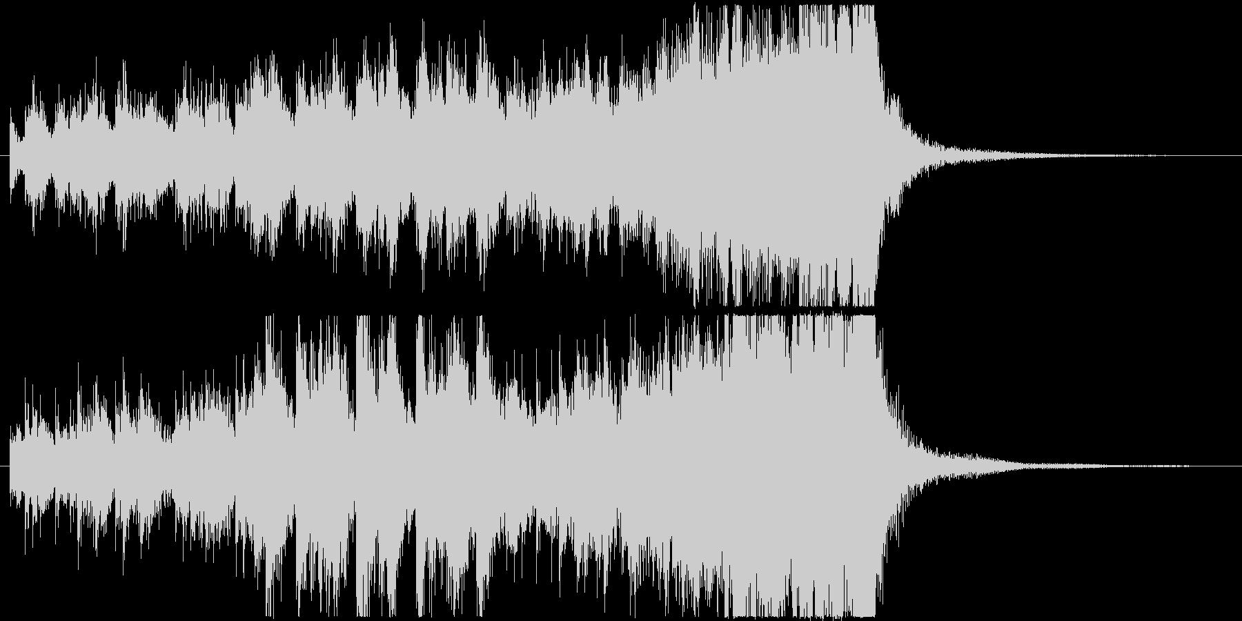 ピンチな木琴オーケストラ/ジングルの未再生の波形