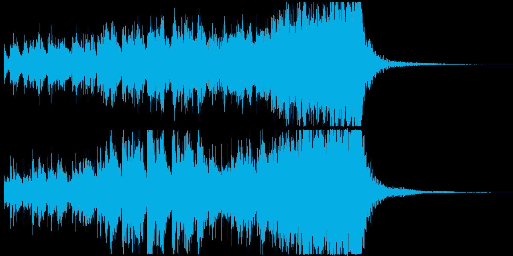 ピンチな木琴オーケストラ/ジングルの再生済みの波形
