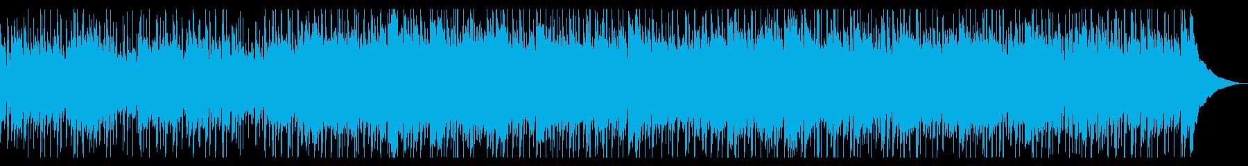 ほのぼの牧歌的アコースティックギター曲の再生済みの波形