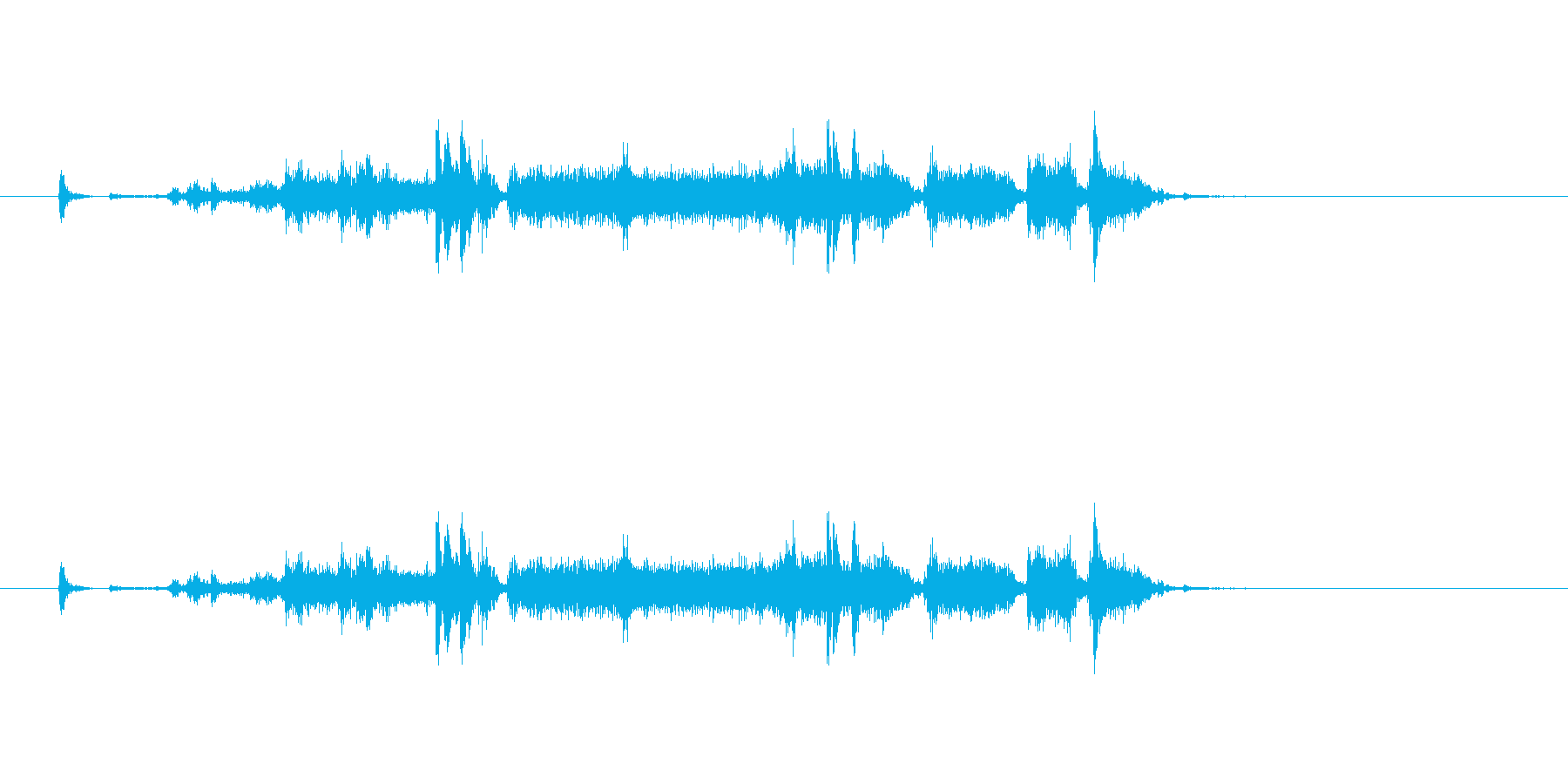 【プリンター01-2】の再生済みの波形