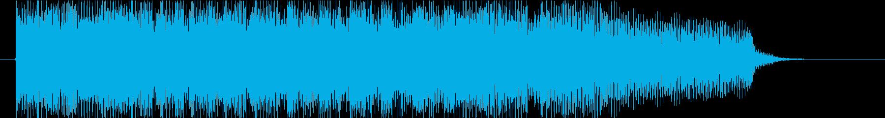 サウンドロゴ(エレキピアノ・発車メロ風)の再生済みの波形