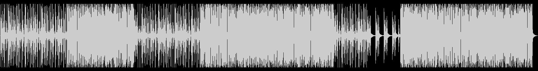 ポンポコとコミカルな雰囲気のBGMですの未再生の波形