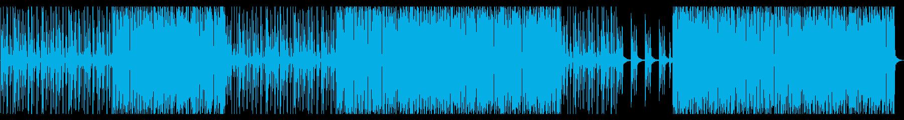 ポンポコとコミカルな雰囲気のBGMですの再生済みの波形