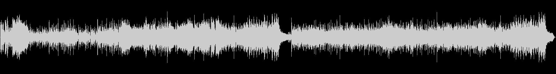 和風、琴尺八のオーケストラループ楽曲の未再生の波形