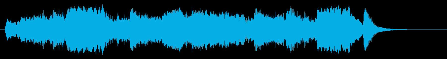 恋愛系ゲーム宣伝用ジングル(long)の再生済みの波形