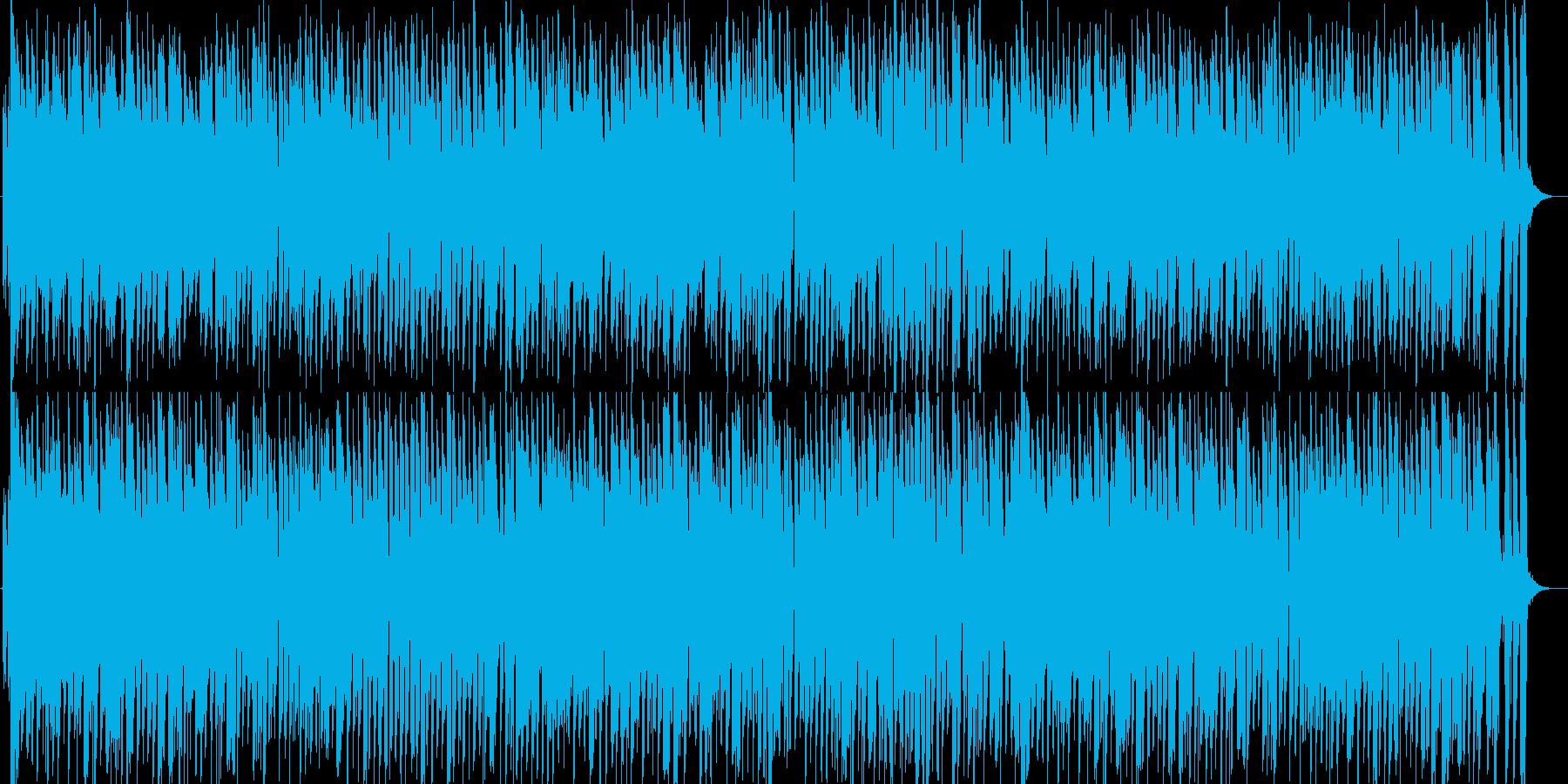 お洒落なジャズピアノトリオ9アップテンポの再生済みの波形