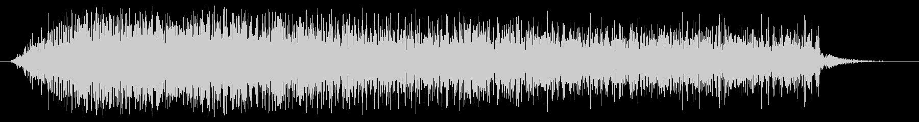 素材 グリッティスペースドロップ03の未再生の波形