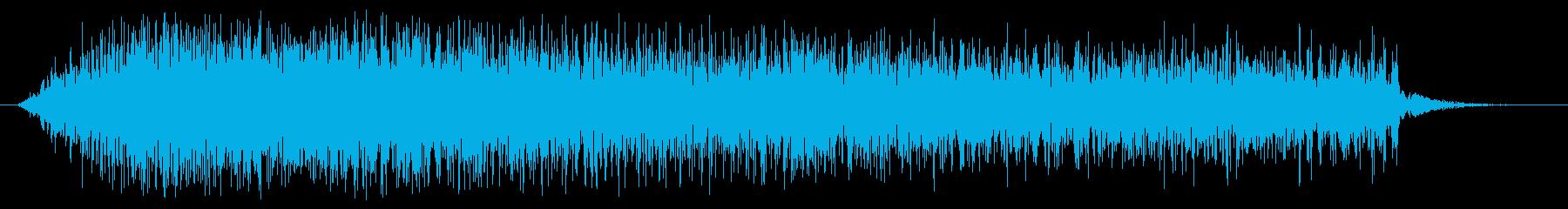 素材 グリッティスペースドロップ03の再生済みの波形
