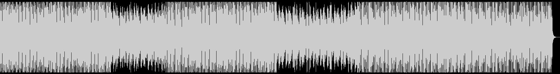 オシャ4つ打ち、スタイリッシュ雰囲気系8の未再生の波形