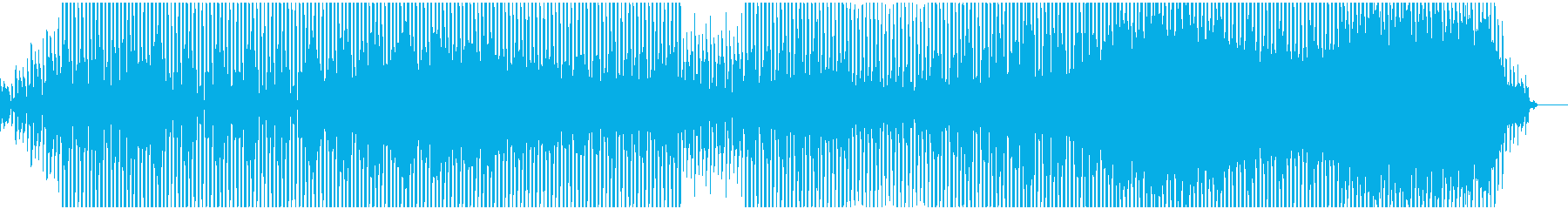 ゆったりとしたアンビエントテクノの再生済みの波形