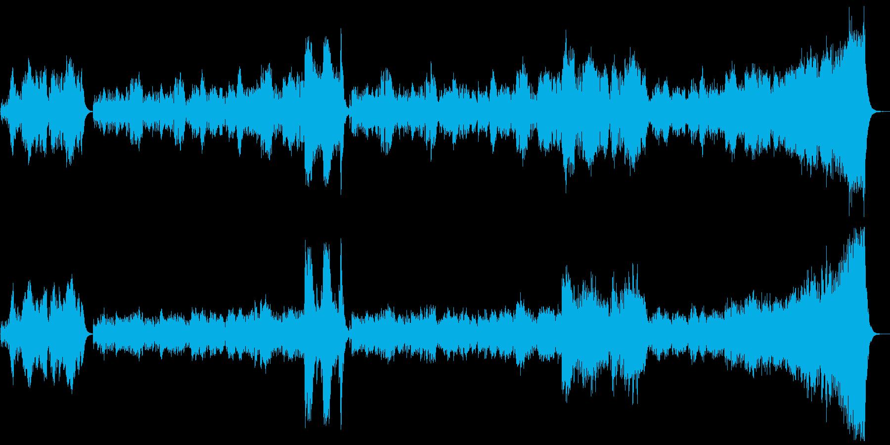 乾杯の歌 歌唱→生バイオリンの再生済みの波形